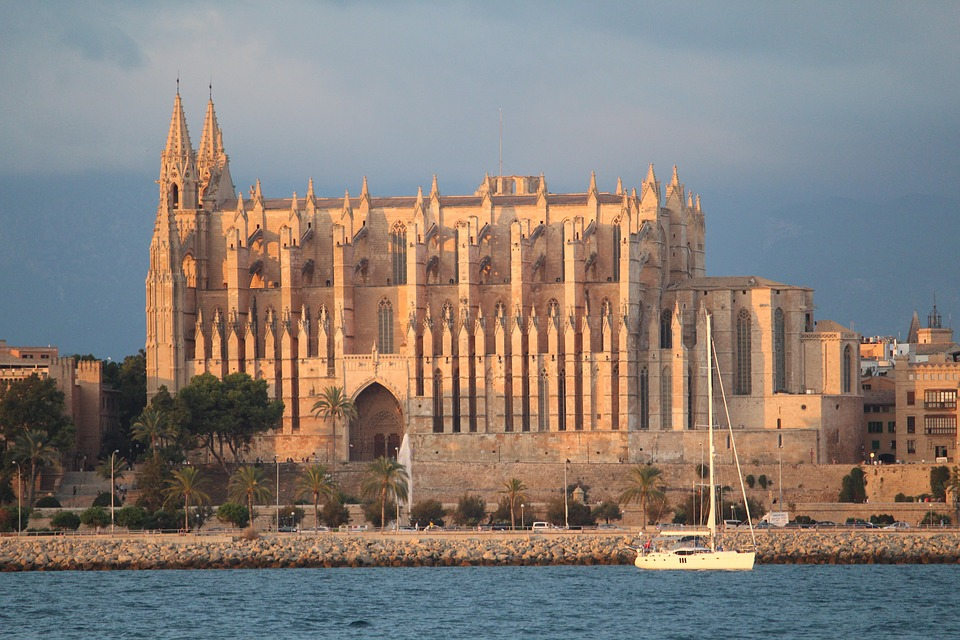 La Seu, Cathedral Of Saint Mary, Mallorca, Palma, Spain