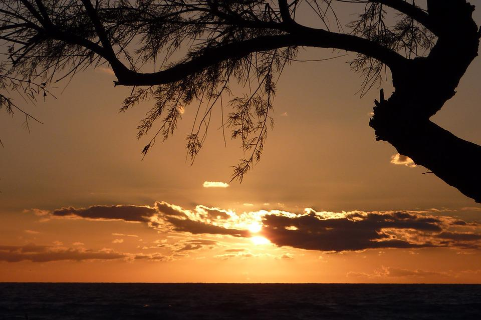 Mallorca, Sea, Sunset