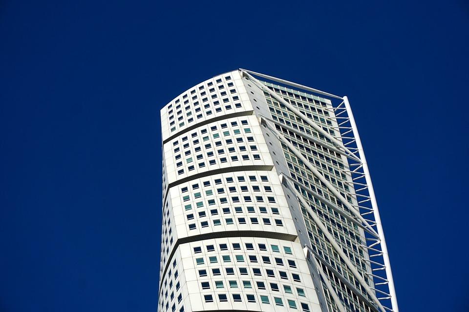Malmö, Turning Torso, Building, Architecture, Torso