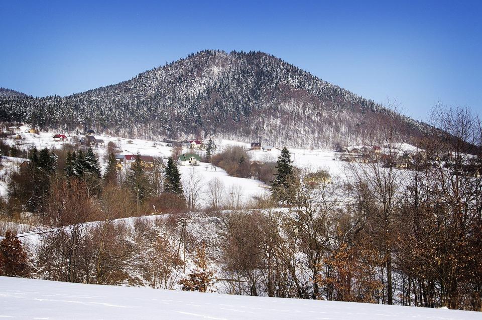 Winter, Snow, Mountains, Landscape, Nature, Malopolska