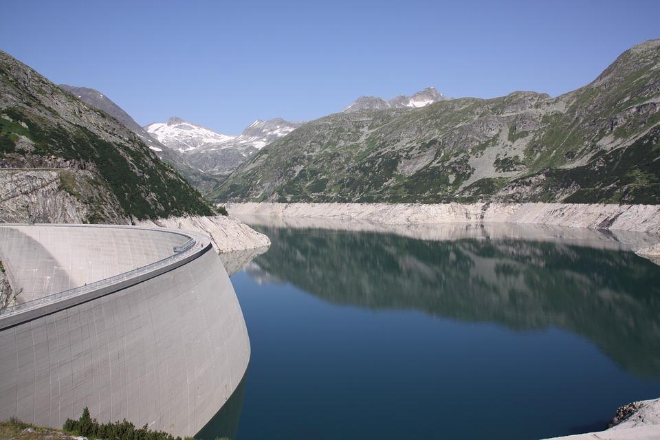 Dam, Water, Austria, Malta Valley