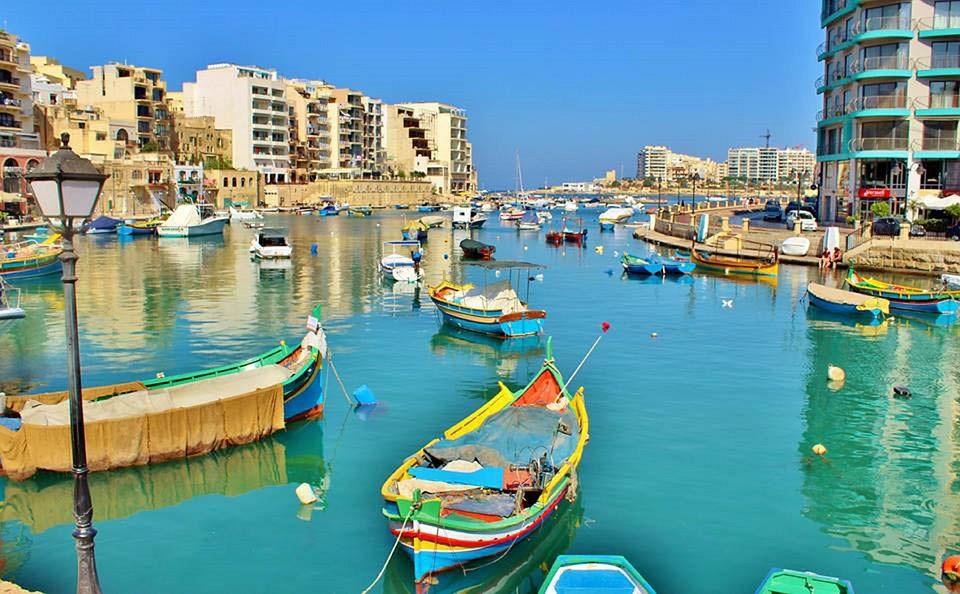 Malta, Waterway, Dock, Water, Sky, Country, Outside