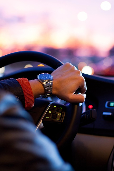 Watch, Steering Wheel, Fashion, Car, Man, Driving