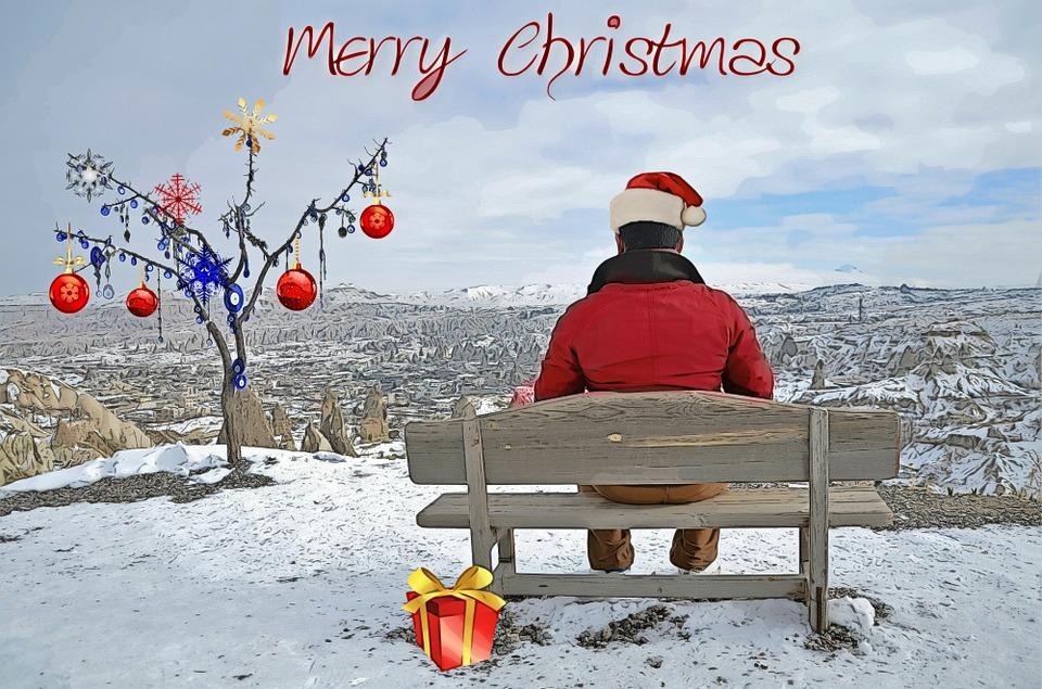 Christmas, Christmas Card, Christmas Greeting, Man