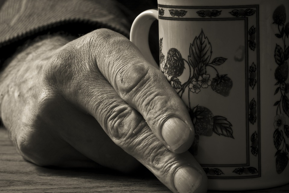 Man, Hand Coffee, Male, Cup, Table, Person, People