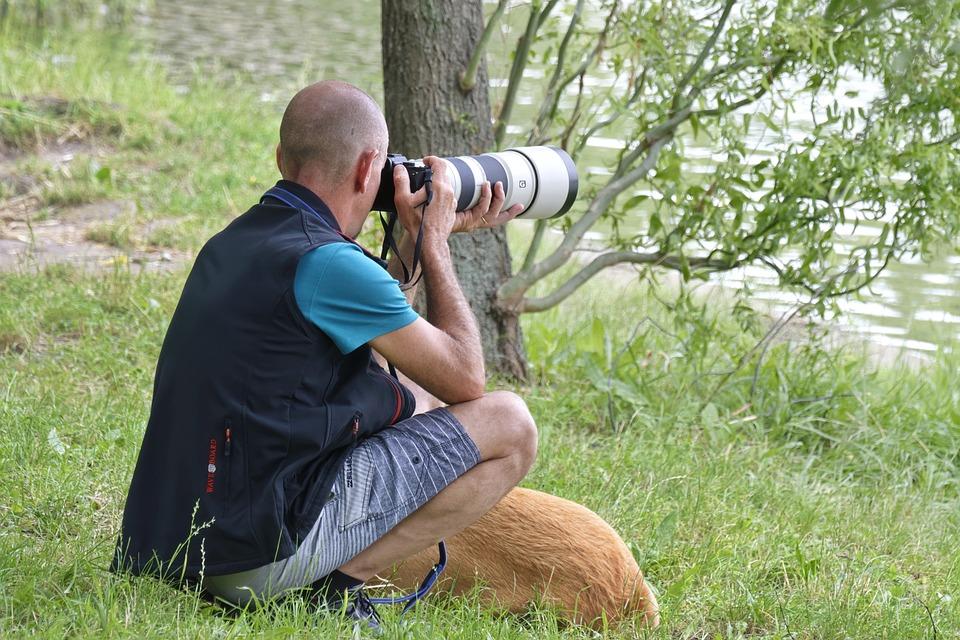 Man, The Person, Photographer, Digital Camera