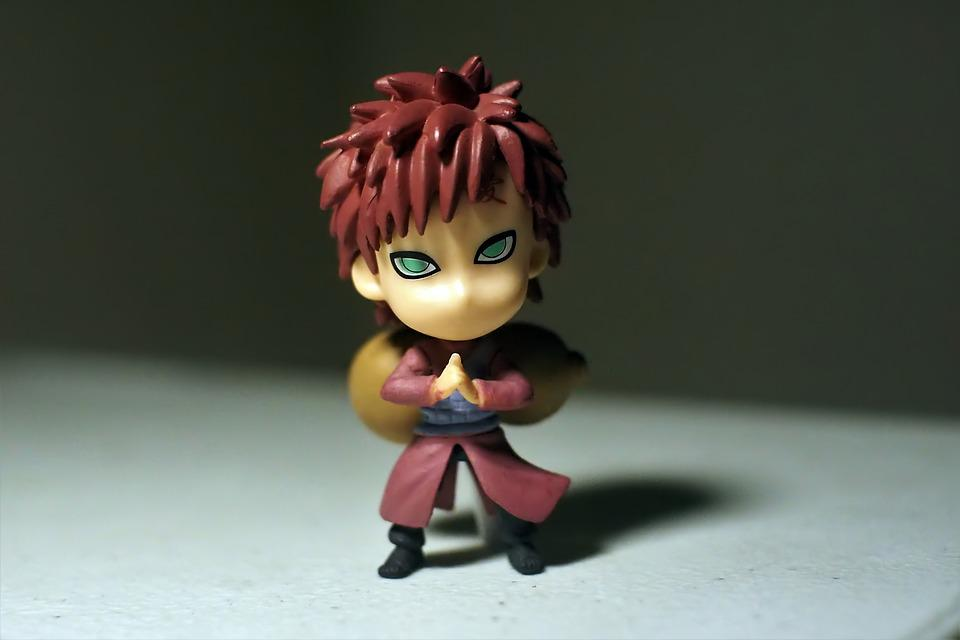 Ninja, Young, Man, Cute, Small, Toy, Figurine, Japanese