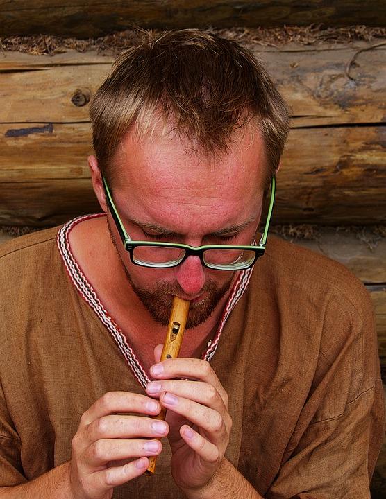 Schnitzer, Flute, Wood Carver, Man, Hand Labor, Carve
