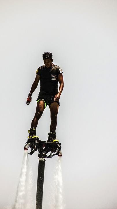 Fly Board, Sport, Extreme, Action, Freestyle, Man