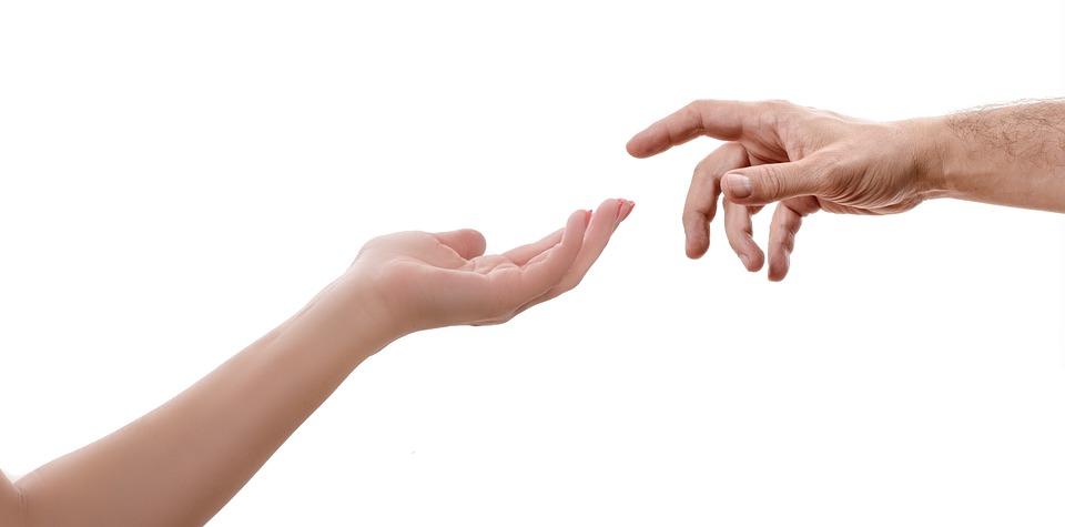Hand, Woman, Female, Man, Touch, Fingers, Reach