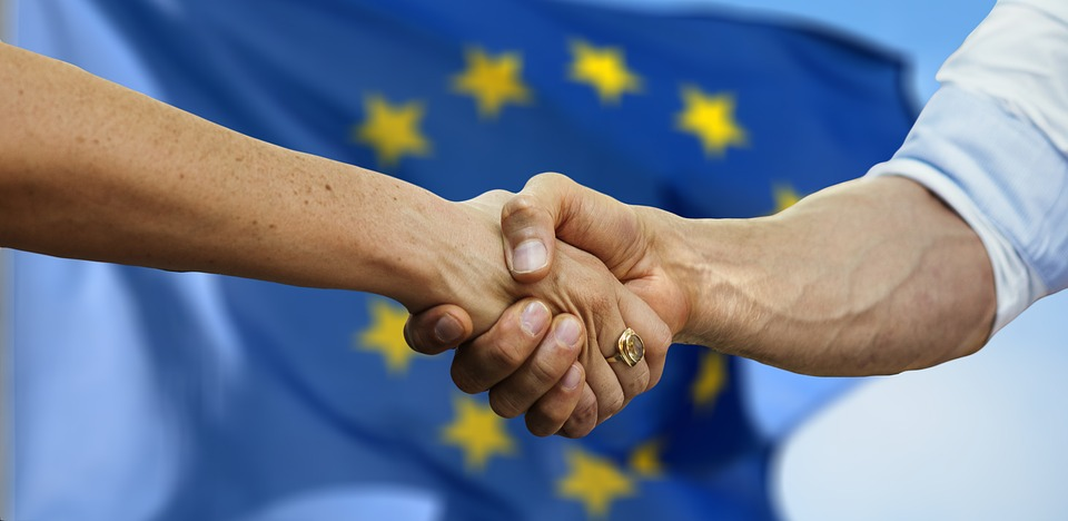 Europe, Hands, Friendship, Together, Man, Woman, Human