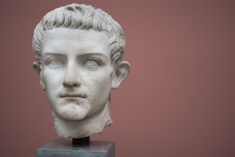Sculpture, People, Portrait, Art, Man, Caligula, Male