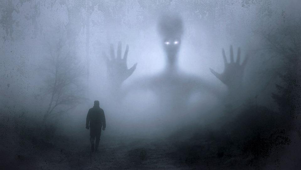 Fantasy, Fog, Creepy, Mystical, Mood, Man, Walk