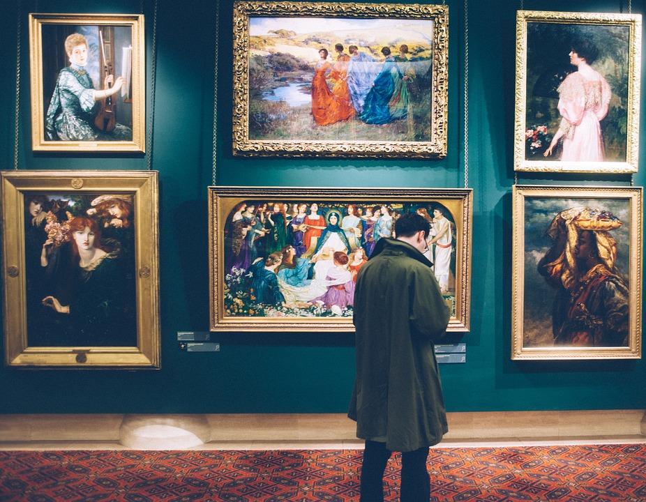 People, Man, Artist, Painting, Paint, Museum, Art