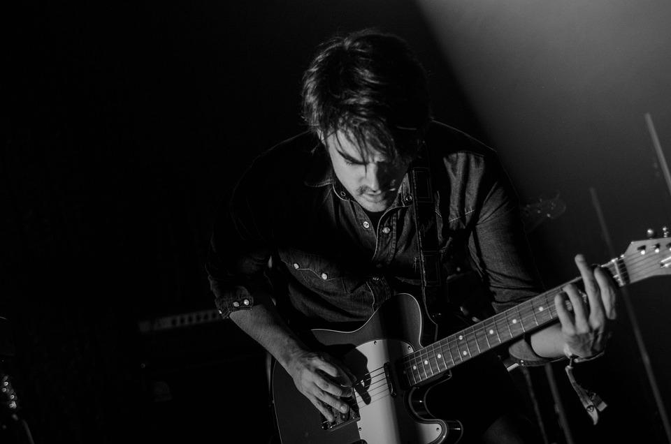 Guitar, Guitarist, Man, Music, Musical Instrument