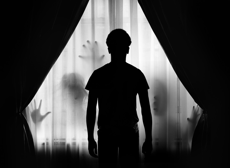 People, Man, Adult, Silhouette, Shadow, Light, Mystery