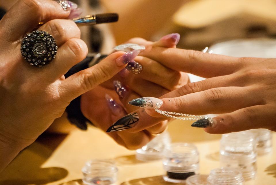 Free photo Man Nail Art Gel Nails Model Expocosmética - Max Pixel