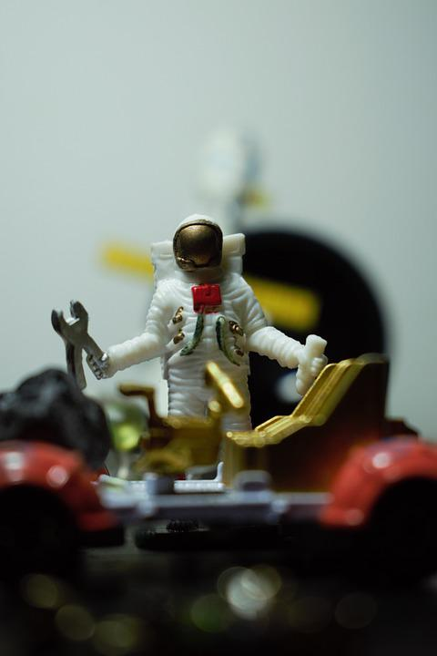 Astronaut, Man Of The Space, Spaceman