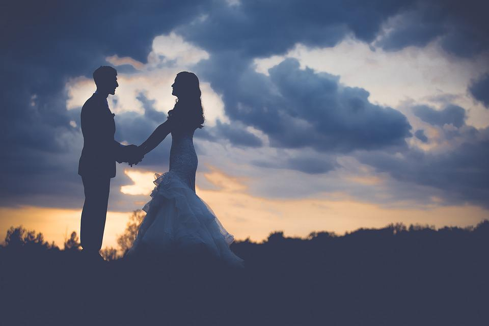 Couple, Dawn, Dusk, Love, Man, Outdoors, People