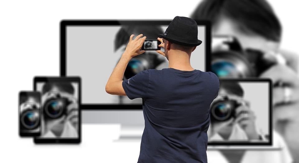 Photograph, Man, Photographer, Woman