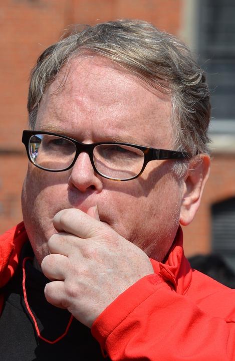 Man, Glasses, Face, Portrait, Road, Hamburg, 1 May