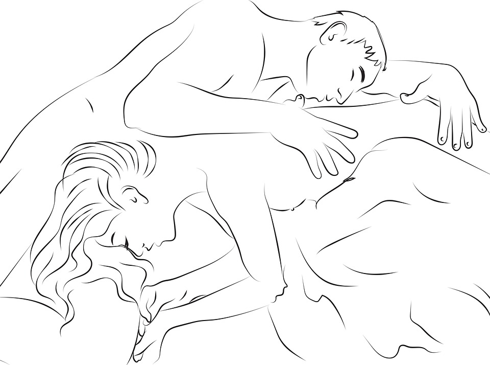 Sex, Pair, Naked, Erotic, Man, Woman, Romance, Lovers