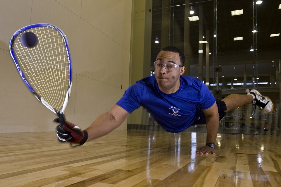 Racquetball, Sports, Exercise, Man, Competition, Game