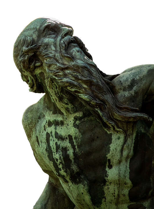 Man, Statue, Sculpture, Stone, Stone Scuplture