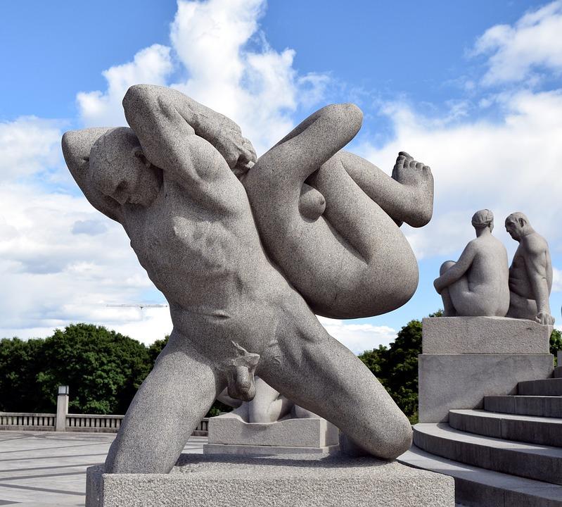 Sculpture, Stone, Man, Human Body, Art, Figure, Statue
