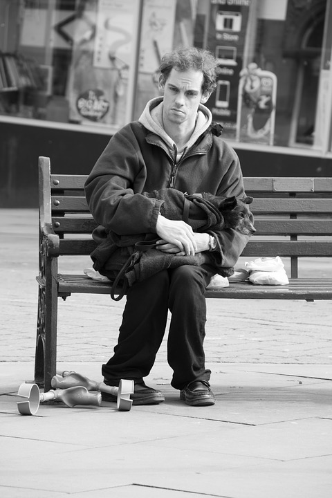 Man, Lonely, Street, Male, Sad, Man Thinking