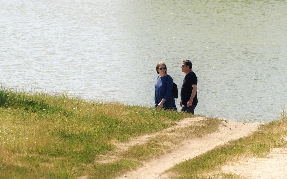 Couple, People, Woman, Man, Sunglasses, The Walking