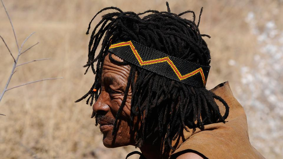 Botswana, Indigenous Culture, Buschman, Tradition, Man