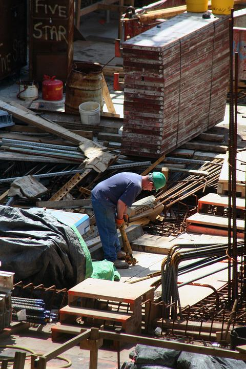 Construction, Worker, Work, Man, Male, Building, Site