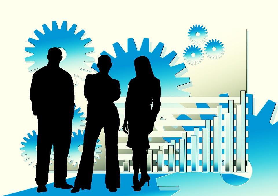 Businessmen, Manager, Office, Teamwork, Team Spirit