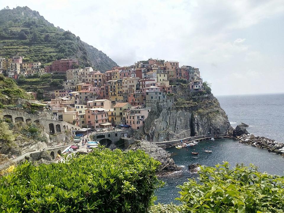 Manarola, Cinque Terre, Holiday, Sea, Beach, Italy