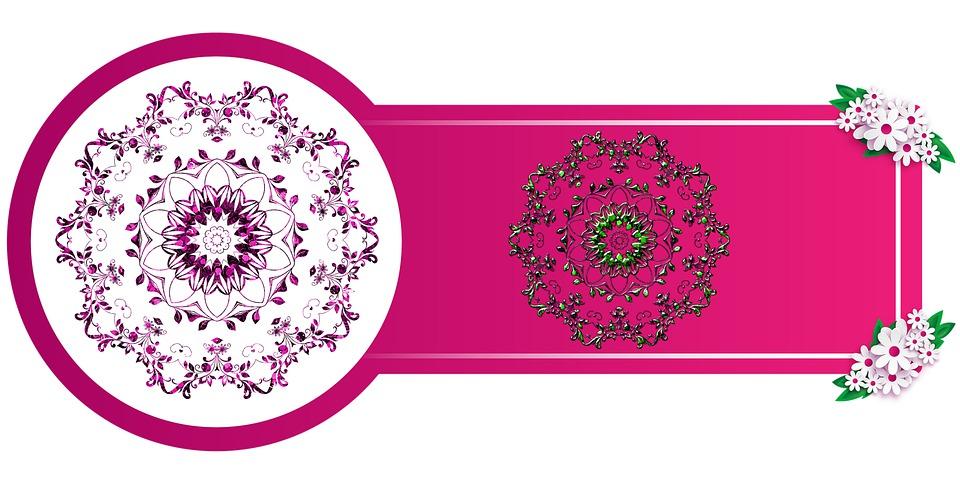Flowers, Mandala, Mandala Illustration, Mandala Drawing