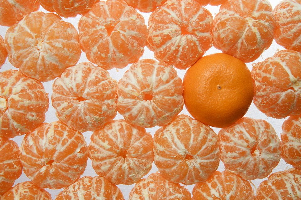 Mandarins, Oran'zhevyj, Food