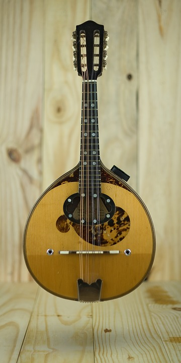 Mandolin, Instrument, Acoustic, Music, String, Sound