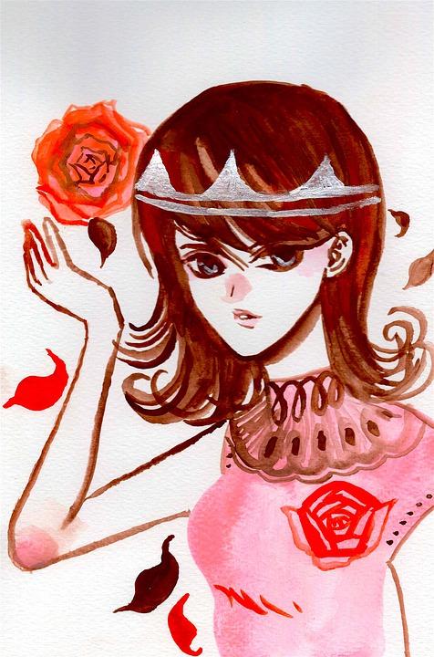 Girl, Beauty, Manga