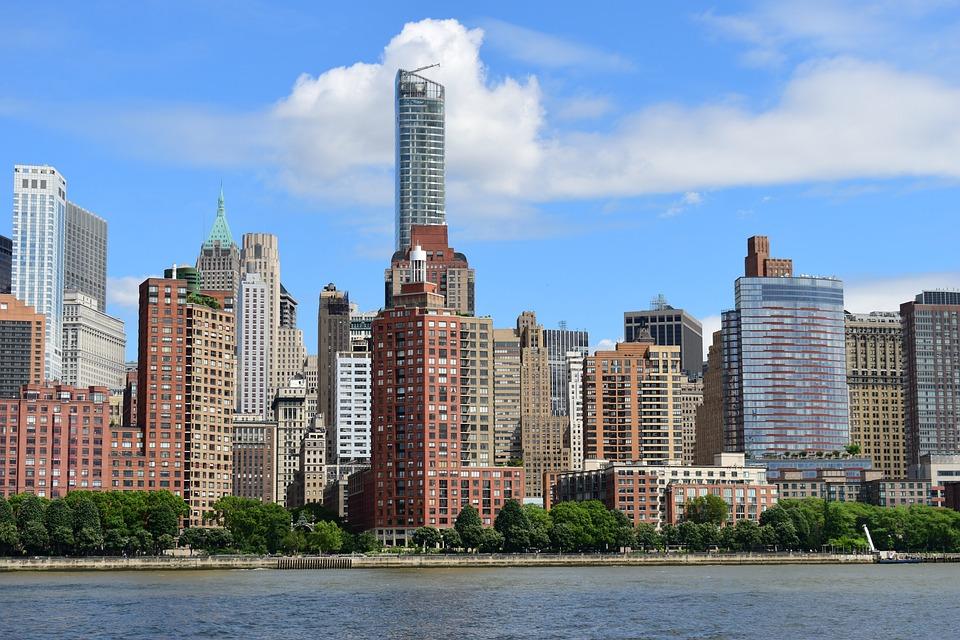 New York, Landscape, Usa, City, Manhattan, America