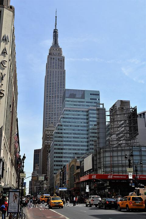 free photo manhattan new york city empire state building max pixel