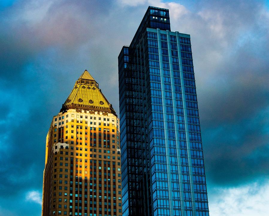 Skyscaper, Nyc, Manhattan, Skyscraper, Buildings