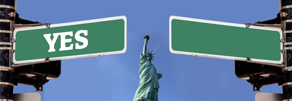 Statue Of Liberty, Monument, Manhattan, Statue