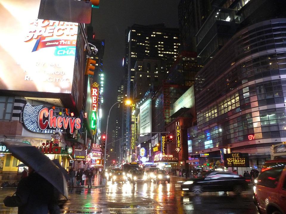 New York, Times Square, Manhattan, Nyc, Ny, City