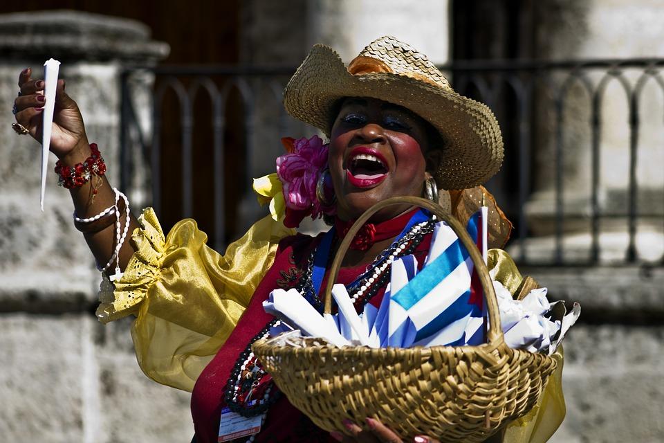 Cuba, Havana, Holiday, Manicera, Saleswoman, Mani
