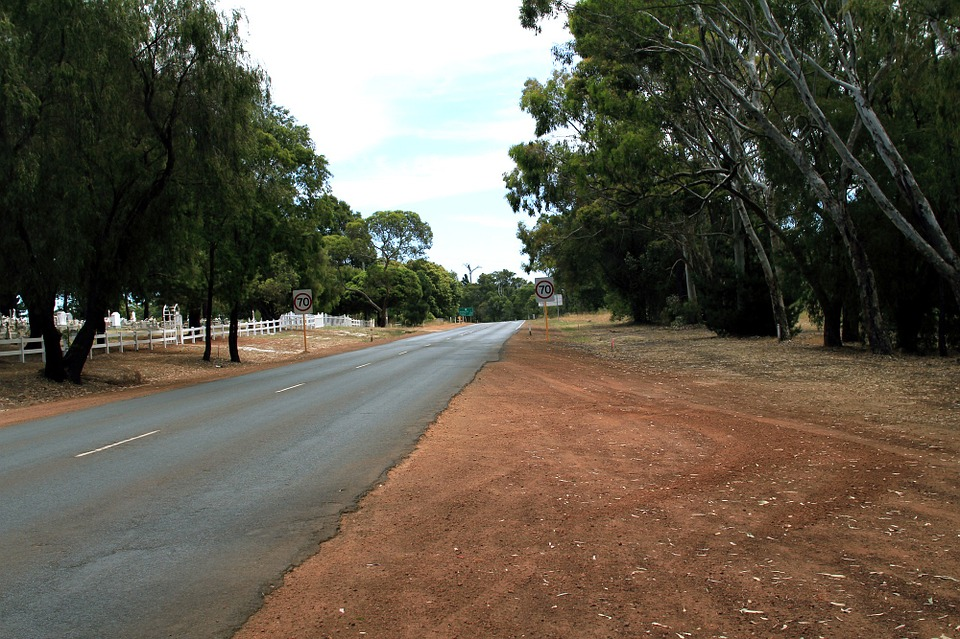 Country Road, Highway, Australia, South West, Manjimup