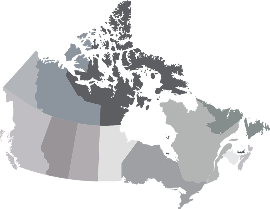 Free photo Map Alberta Canada Territories Provinces - Max Pixel