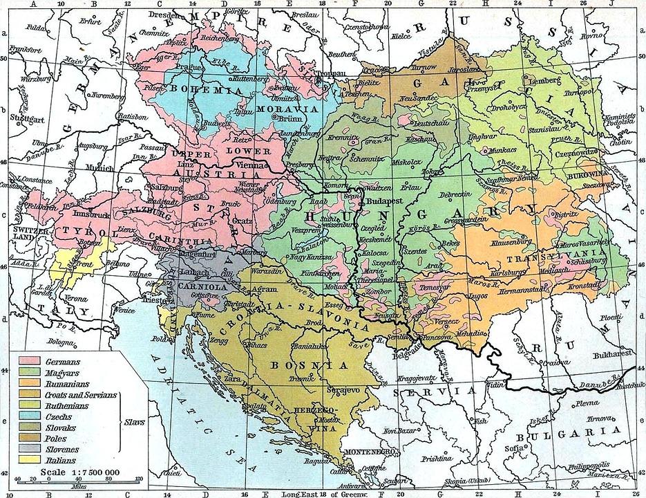 Free photo map bosnia hungary austria yugoslavia max pixel map austria hungary bosnia yugoslavia gumiabroncs Choice Image