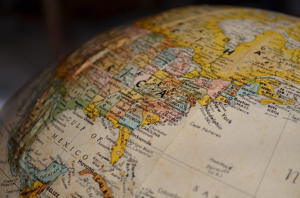 Free photo Map Globe North America Max Pixel