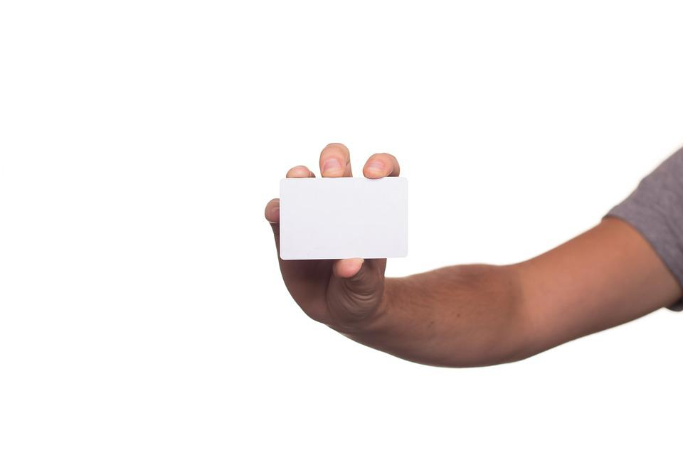 Business Card, Map, Show, Stick, Hand Over